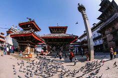 Bustling Durbar Square in Kathmandu, Nepal -- READ MORE: http://www.asherworldturns.com/bustling-durbar-square/