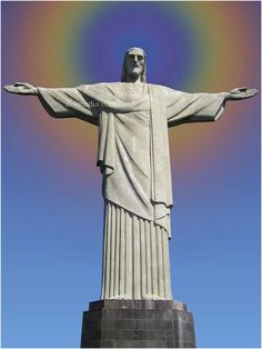Don't blink when around this statue...If the statue of Liberty is an Angel, Christ the Redeemer could be one too!!
