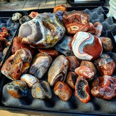 Agates, Lake Superior, Rocks And Minerals, Shrimp, Sausage, Meat, Food, Sausages, Essen