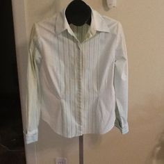 Coldwater Creek French Cuff Style Shirt Size M in Clothing, Shoes & Accessories   eBay