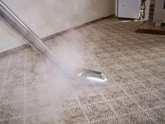 No Chemical used in carpet steam cleaning chemical!