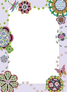 Brewster Wall Pops Peel and Stick Flower Power Dry-Erase Message Board with Marker * Special offer just for you. Printable Lined Paper, Free Printable Stationery, Printable Recipe Cards, Borders For Paper, Borders And Frames, Diy Crafts Paper Flowers, Paper Crafts, Wall Stickers Murals, Vinyl Wall Decals