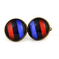 Novelty BMW logo tricolor cufflinks. BMW fan logo M cufflinks. Bmw M5. Personalised  Men's jewelry accessories gift. BMW lovers gift. by Mysstic on Etsy