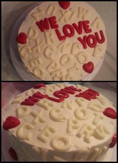 Say it with cake, cake! Literally! Follow me on FACEBOOK at Sweet Little Kakes!