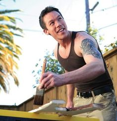 David Bromstad.  I want him to be my interior designer....
