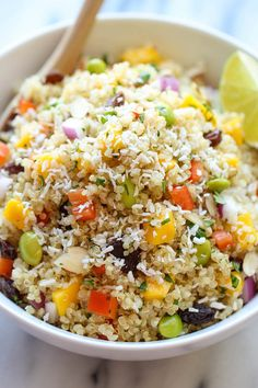 Coycat Whole Foods California Quinoa Salad by damndelicious #Salad #Quinoa #Healthy #Whole_Foods