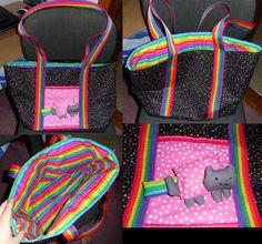 Nyan cat bag!