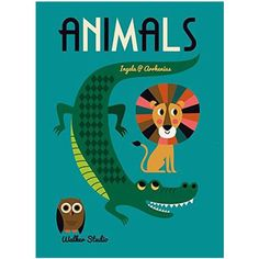 Animals: A Stylish Big Picture Book For All Ages by Ingela P. Arrheniu – Junior Edition