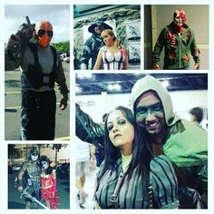 Some of my cosplays collage