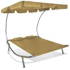 56,95 + 9,90 livraison - Jago - Bain de soleil transat - DSLG02 - Capuccino - Chaise longue 2 places - avec pare-soleil - DIVERSES COULEURS AU CHOIX de Jago, http://www.amazon.fr/dp/B007JUHWV4/ref=cm_sw_r_pi_dp_BKoctb0C05AHB