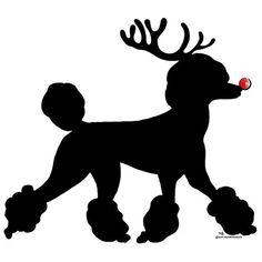 Poodle reindeer