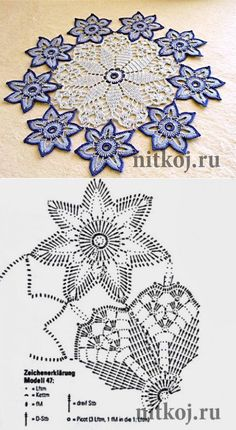 Crochet doilies table runner snowflakes 22 Ideas for 2019 Crochet Butterfly Pattern, Crochet Doily Diagram, Crochet Flower Patterns, Crochet Mandala, Crochet Chart, Thread Crochet, Crochet Motif, Crochet Designs, Crochet Flowers