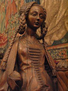 St Mary Magdalene, Bruxelles, c. 1500, Musee du Moyen Age, Paris.