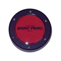 Red eyeshadow. Badu, I love you.  Amazon.com: Manic Panic Vampire Red Eye Shadow / Blush Goth Punk Makeup: Everything Else