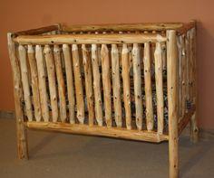 Log Baby Crib Plans