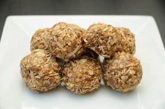 Healthy Peanut Butter Balls - these are sooo good!