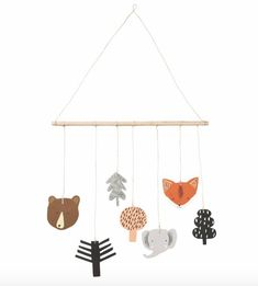 Scandinavian Design - House of Rym - Motherhoodstudio Diy Clay, Clay Crafts, Scandinavian Design House, Baby Changing Table, Hanging Mobile, Plywood Furniture, Diy For Kids, Nursery Decor, Home Accessories