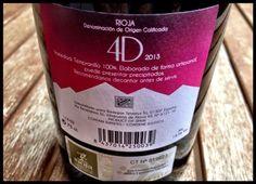 El Alma del Vino.: Bodegas Terminus Tinto 4D 2013.