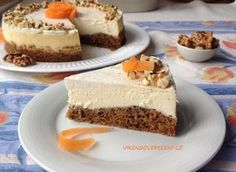 Cake with carrot and ham - Clean Eating Snacks Fitness Cake, Salty Cake, No Bake Pies, Mini Cheesecakes, Low Carb Desserts, Savoury Cake, Sweet And Salty, Cheesecake Recipes, Christmas Baking