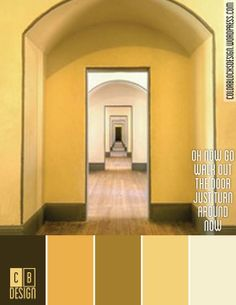 Oh Now Go Walk Out the Door Just Turn Around Now | Color Blocks Design 10.7.12
