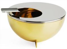 Alessi Ashtray designed by Marianne Brandt