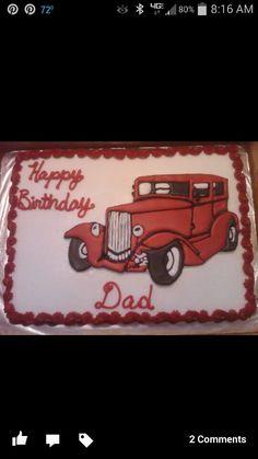 Vintage Car Cake Classic Bel Air Car Cake Birthday Cakes Jm