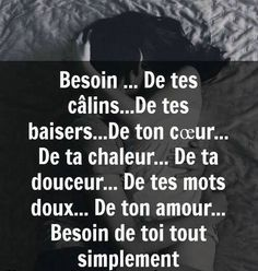 Valentines Quotes: Need . Your kisses . Your heart . Your sweetness . Your sweet words . Your love. Simply need you . French Words, French Quotes, Valentine's Day Quotes, Love Quotes, Citation Saint Valentin, Quotes Valentines Day, Tu Me Manques, Boxing Quotes, Quote Citation