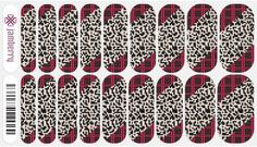 November SSE Jamberry Nail Wraps