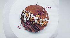 Vegan Black Bean Mocha Chocolate Mousse Cake