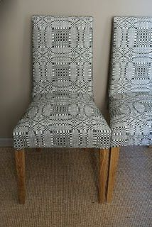 I love these! My grandmother had handwoven blankets with this design. I wish I still had them.