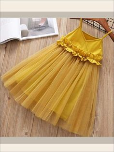 Discount This Month Humor Bear 2019 Girls Mesh Dress Princess Dress Tutu Party Gown Birthday Fashion Baby Clothes Children Summer Clothes Frocks For Girls, Kids Frocks, Dresses Kids Girl, Kids Outfits, Little Girl Princess Dresses, Little Girl Summer Dresses, Baby Outfits, Baby Frocks Designs, Baby Dress Design
