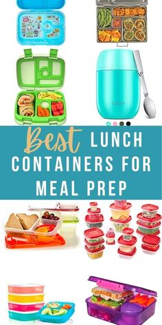 Sharing the best lunch containers that will keep your lunch at the right temperature and tasting fresh for hours! Options for kids and adults, divided containers and more. #sweetpeasandsaffron #lunch Meal Prep Containers, Prepping, Lunch Box, Work Lunches, Favorite Recipes, Meals, Kitchen Tips, Kids, Fresh