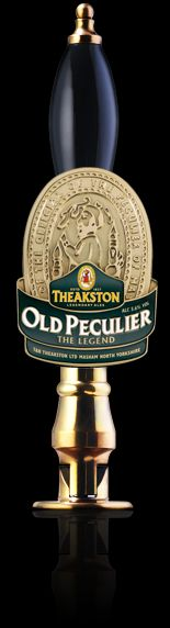 Old Peculiar - rich, full-bodied and packing all of the distinctive punch of the Fuggle hops.