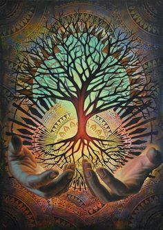 Psychedelic Tree of Life Art - Bing images Art Visionnaire, Inspiration Art, Visionary Art, Paint By Number, Psychedelic Art, Tree Art, Diy Painting, Tree Of Life Painting, Tree Of Life Artwork