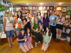 At #BookTowne in Manasquan, New Jersey with sweet fans
