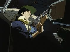 Anime Screencap and Image For Cowboy Bebop Cowboy Bebop, Anime Radio, See You Space Cowboy, Ace Of Hearts, Rene Gruau, Space Cowboys, Rurouni Kenshin, Roronoa Zoro, Big Hugs