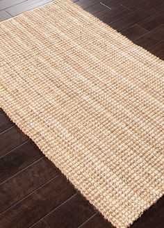 Woven 100% natural jute these rugs are a staple in any style home.