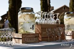 OHH!! I need this for our wedding! And we are getting three cases for the wedding. Hopefully they come in crates :)