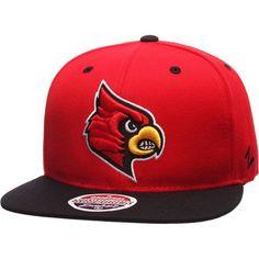 NCAA Zephyr Louisville Cardinals Mens The Supreme Hat Adjustable Gray