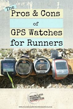 While there are numerous benefits to training with a GPS watch, there are also some negative aspects that may harm a runner's training and progress.  In this post we will discuss a little bit of both sides of this argument.   Though many of you may be hopeless GPS converts already,  I hope that this post will provide a little insight to the pros and cons of this wearable technology to the beginner running crowd, or anyone considering purchasing a GPS watch to assist with their training…