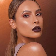 """3,517 Likes, 88 Comments - D E S I • P E R K I N S (@desiperkins) on Instagram: """"There's just something about a good bold lip @NARSissist Velvet Matte Lip Pencil in """"Lonely…"""""""
