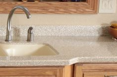 Merveilleux Solid Surface Countertops Are Created By Pouring Resins Crushed Up Pieces  And Acrylics Into A Mold