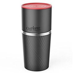 Cafflano World's First Portable All-in-one Coffee Maker Tumbler Hand Mill Grinder Dripper