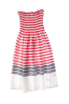 Love this lemlem dress, it has been taunting me all summer from the store window across the street Preppy Inspiration, Lemlem, Nice Dresses, Summer Dresses, Cropped Denim Jacket, Summer Wear, Summer Fun, I Dress, Spring Fashion