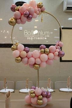 Centerpieces with balloons and hula hula, ideas of centerpieces, centerpieces with balloons and sweets, how to make centerpieces, centerpieces fac . Balloon Table Centerpieces, Diy Birthday Decorations, Balloon Decorations Party, Balloon Garland, Baby Shower Decorations, Masquerade Centerpieces, Quinceanera Centerpieces, Centrepieces, Wedding Centerpieces
