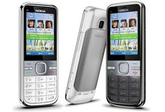 """Nokia C5 has a Symbian S60 3rd Edition based cell phone, was the first to see the light of day. This is a Symbian smartphone, running the old S60 3rd Edition version of the software rather than the latest Symbian """"Anna"""". There's a 2.2″ 240 x 320 pixel display, a well-laid out keypad, 3.5G support and VGA resolution video capture at 15 fps. The Nokia C5-00 5MP supports Bluetooth, microSD memory (with a 2GB card in the box),"""
