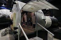 DLR Space Camp für Kinder  Blick in den Orion-Simulator. Hier wird die Simulation einer bemannten Mars-Mission durchgeführt.