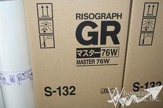Riso S132 Duplicator Masters