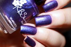 Fashion Polish: KBShimmer Winter 2016 collection - Royal To A Fault