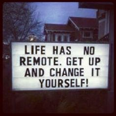 A remote would be easier...But DIY is SO much more rewarding!